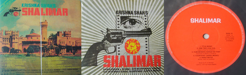 R.D. Burman - Shalimar (Original Soundtrack)