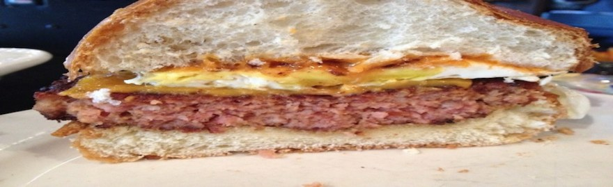 The Distinguished Gourmand: The 'Merica Burger @ Slater's 50/50