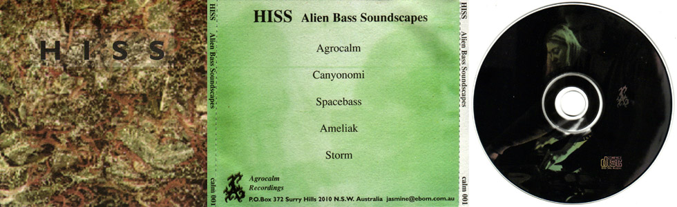 Hiss - Alien Bass Soundscapes