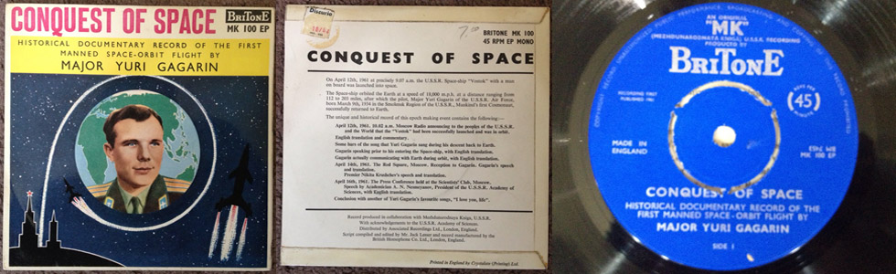 Major Yuri Gagarin - Conquest Of Space