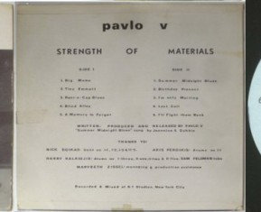 Pavlo V - Strength Of Materials