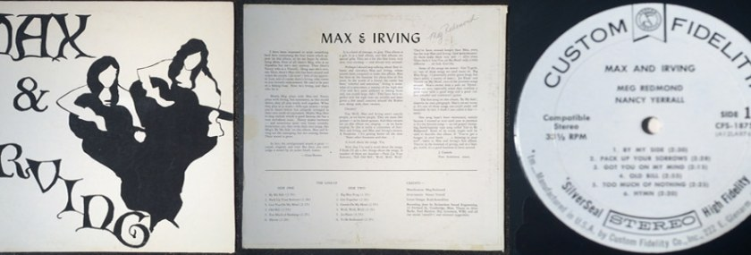 Max & Irving – Max & Irving