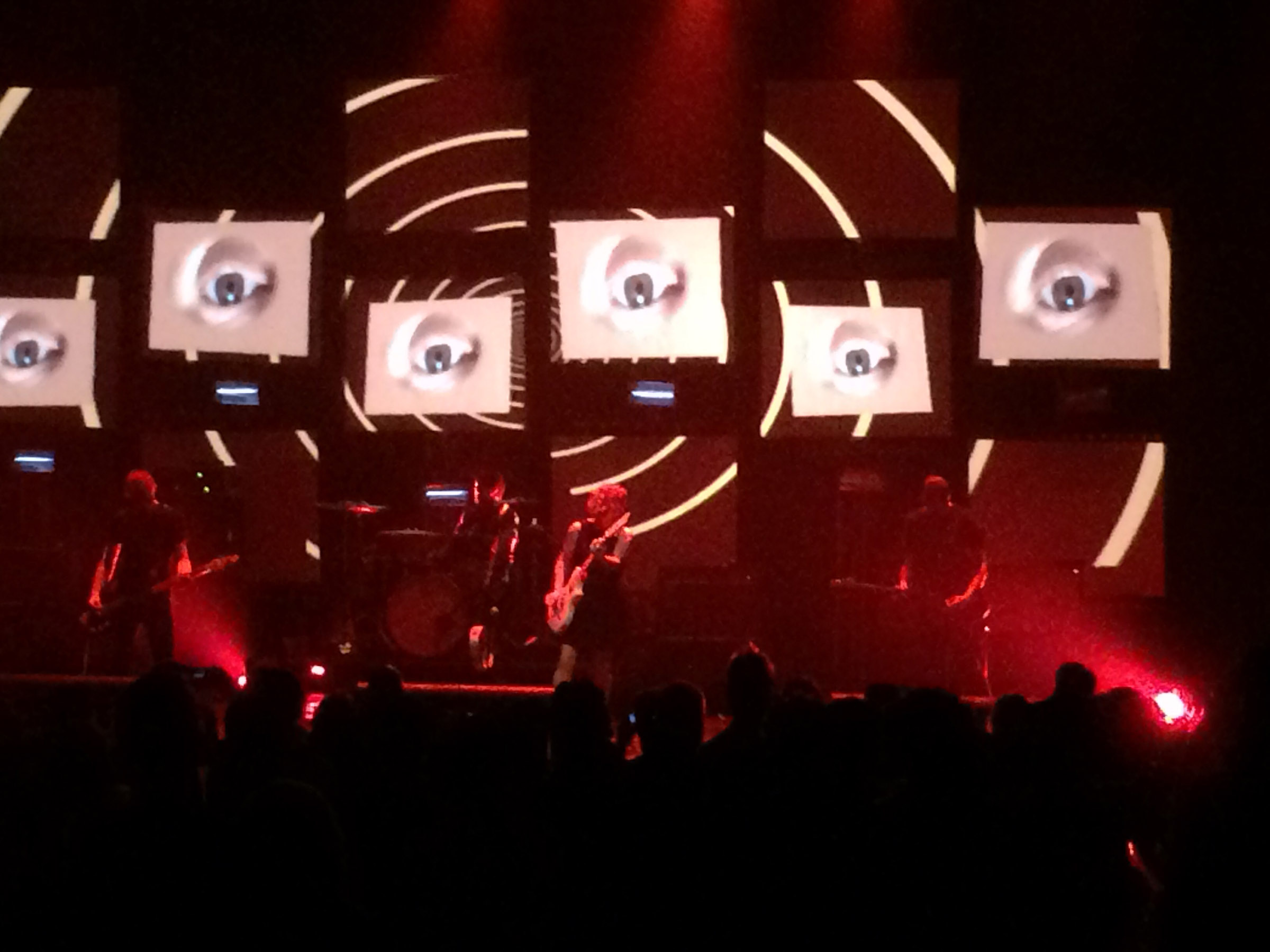 Slowdive @ United Artists Theater; Los Angeles, CA (2)