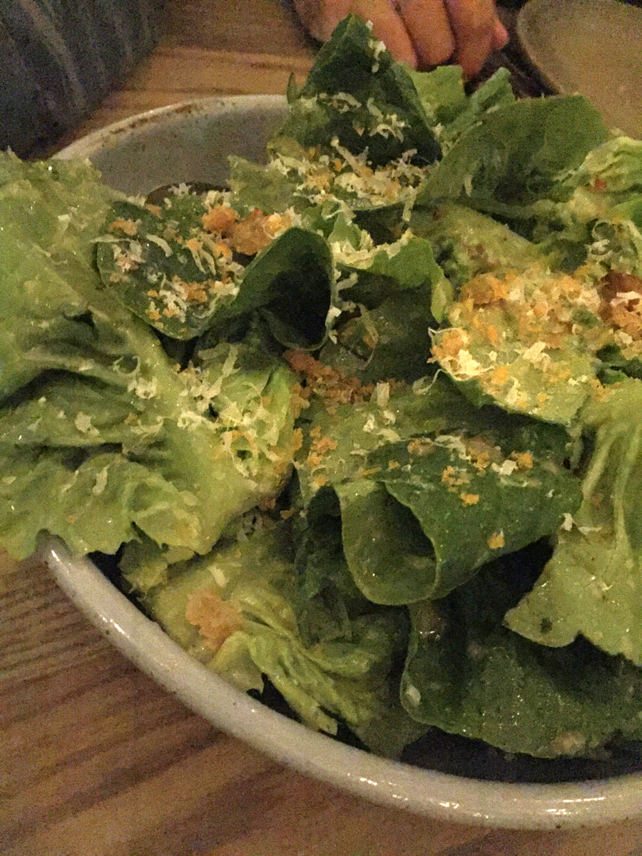 Little Gem Lettuce·Bottarga Vinaigrette