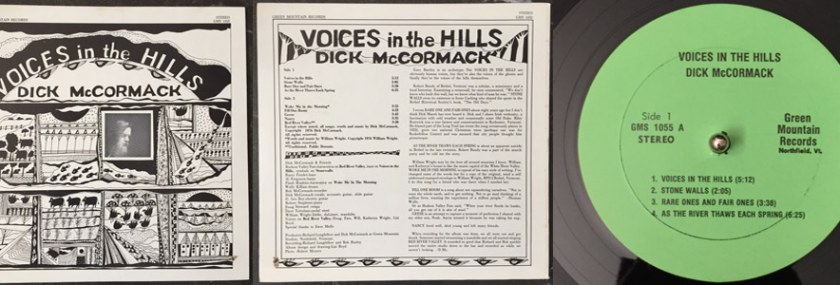 Dick McCormack – Voices In The Hills