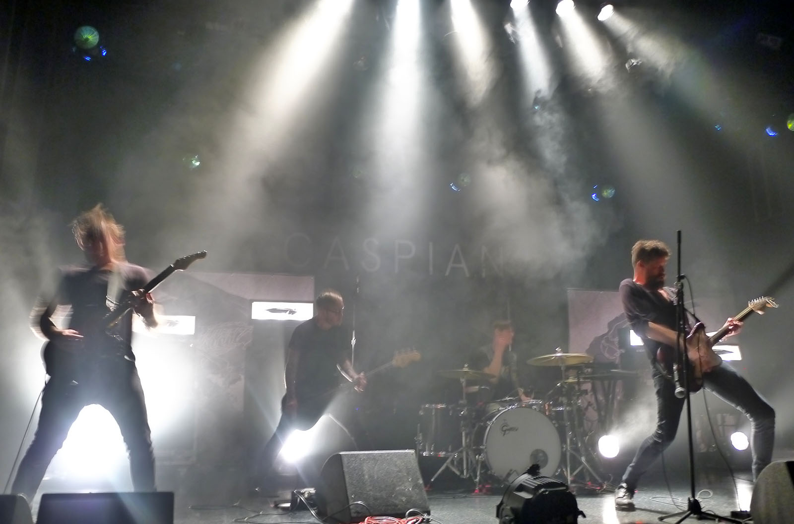 Caspian - The El Rey Theatre; Los Angeles CA