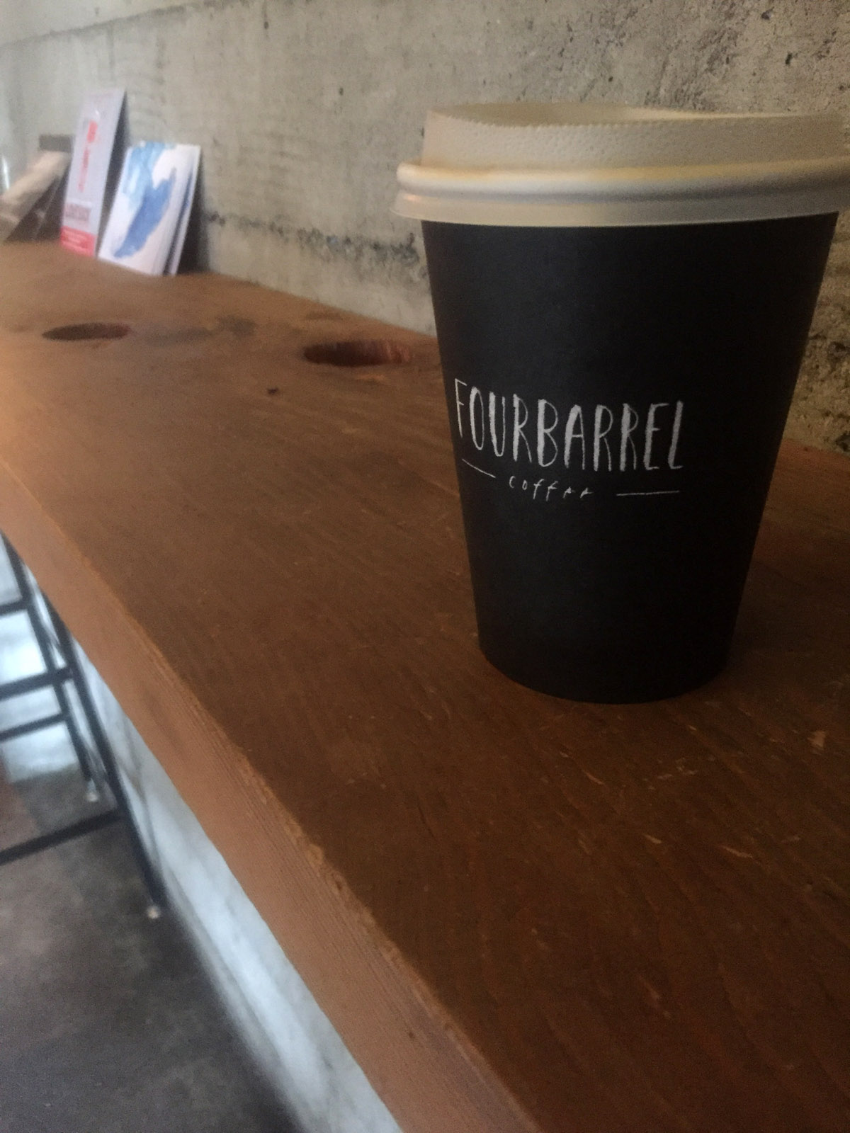Four Barrel Coffee SF