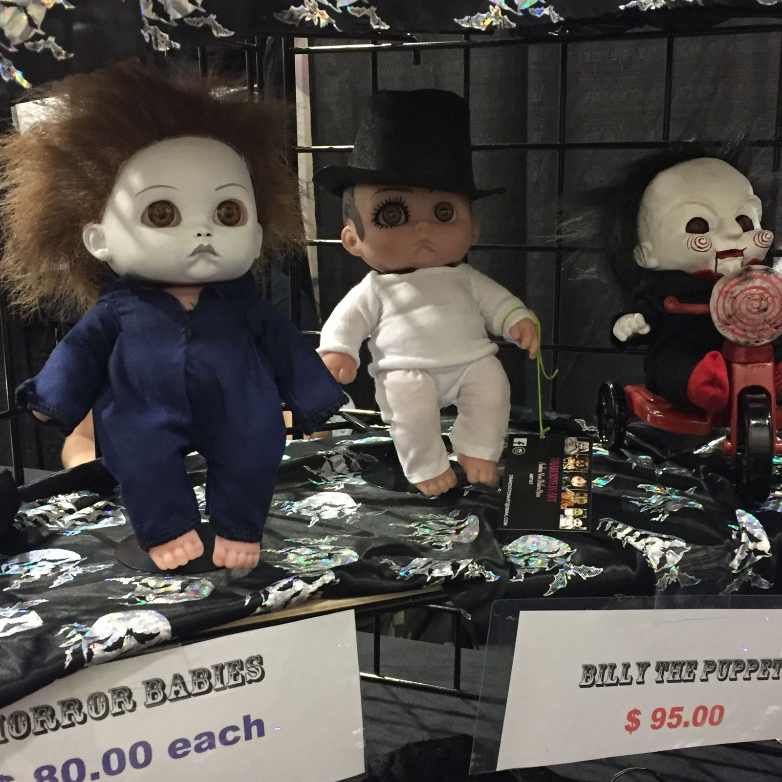These dolls were just the cutest. Far too expensive, though.