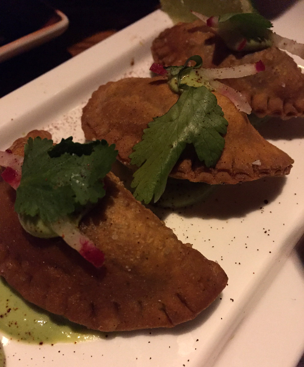 'Chile Relleno' Empanadas - Beauty & Essex LA