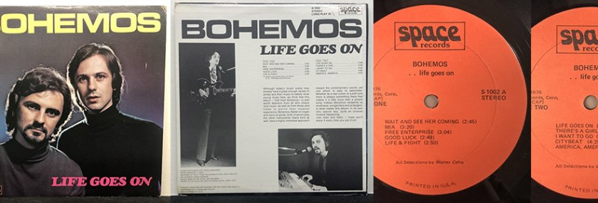 Bohemos – Life Goes On (Space Records, 1979)
